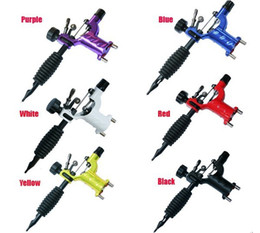 Wholesale Pro Dragonfly Rotary Tattoo Motor Machines Liner Shader For Tattoo Kits Tube Ink Needles Hot Tattoo Gun Supply