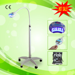 Wholesale 12 blue led lights and RF IC card teeth whitening light for bleaching teeth tooth whitening