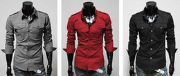 Wholesale Men Shirts Trendy Casual Men Cotton Shirt Hot Sale Long Sleeve Turn down Collar Shirt xm