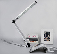 Wholesale Modern Stylish German Designer LED Plastic Folding Table Lamp Learning Eye Protection Desk Lamp