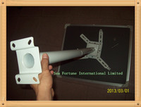 Wholesale 92CM INCH biger LED LCD DLP Projector Ceiling Mount Bracket White Black Fits both flat or Vaulted
