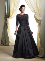 Reference Images sexy mother - Lace Bolero Sexy Sweetheart Black Taffeta Ruffles A Line Mother Of The Bride Dresses