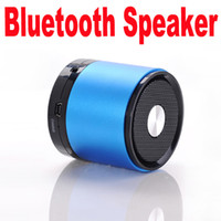 Wholesale 50pcs My Vision A61 Bluetooth Speaker stereo with MIC Hands free Lin in FM TF Card FunctionDHL Fedex