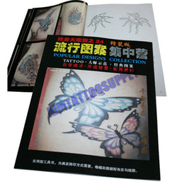 Wholesale Butterfly Tattoo Flash Book Fashion Pattern A4size NO