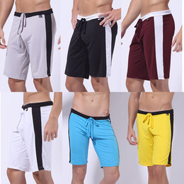 Wholesale New Athletic Teenage micro fiber Man Men Sport Sexy Shorts Fit Size S M L Inch Colors