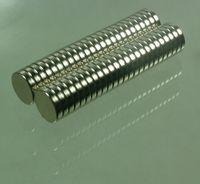 Vente en gros - 50pcs 10mmx2mm N52 Neodymium Permanente Aimants Forte terre rare Artisanat Disc 2/5
