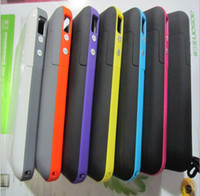Wholesale External Battery power bank station Backup charger cover Case Charger mah For iphone S