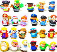 Wholesale about Styles New Little People PVC Figure Dolls Toys Cute Cartoon Doll Figures Toy