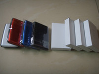 Wholesale new link Newest Fashion Women Men Credit Card Holders Position can be put Card Aluminum Wallet Water Proof