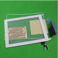 Wholesale Original New For iPad nd Gen Touch Digitizer Screen White Replacement Plastic Frame TOOL