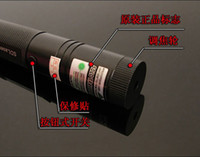 Wholesale Super Powerful red green mw laser pointers w w nm laser pen burn black matches charger gift box