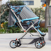 Wholesale Two way push car umbrella stroller baby cart can be folded flat cart