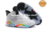 Wholesale Famous Trainers Women s Sports Basketball Shoes white black pink volt blue