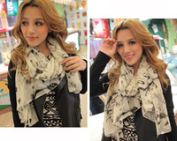 Wholesale 10pcs Graffiti Scarf Shawl Wrap Sexy Women Marilyn Monroe Print Valentine s Gift