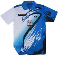 Wholesale NEW Butterfly men s table tennis clothing Badminton T shirt E317