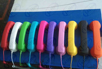 Yes No  Wholesale POP COCO retro Phone Handset Radiation Protection DHL FEDEX free shipping