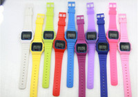 Wholesale New arrival F w digital watch jelly watch