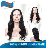 Wholesale High Quality Body Wave B Brazilian Virgin Human Hair Glueless Cap Machine Made Wigs JZ C