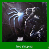 Wholesale funny anime figure print big super cool mat spider man mouse pad