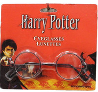 Wholesale Wizard Harry Potter Round Wire Rimmed Eyeglasses Costume Eye Glasses Lunettes