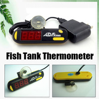 Wholesale ADA Submersible LED Digital Display Thermometer Fish Aquarium Tank bby