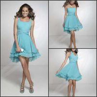 beautiful team - Wholde sale free ship beautiful siter team chiffon short bridesmaid dresses bridesmaid team dresses
