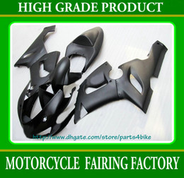 NEW! all flat black body Fairings for Kawasaki Ninja ZX6R 2005 2006 ZX 6R 05 06 zx-6r RX7A z2 x2
