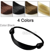 Wholesale Ponytail Holders Plaits Circle Manual Twist Rubber Band Korean Fashion Wig Hair