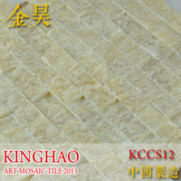 Wholesale KINGHAO Stone Mosaic Tile High Quality Marble Tile Floor Wall Tile K00136