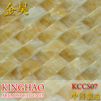 Wholesale KINGHAO Stone Mosaic Tile High Quality Marble Tile Floor Wall Tile K00131