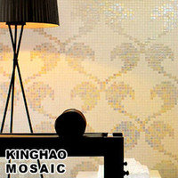 Wholesale KINGHAO KINGHAO Best Promotion Glass Mosaic Tile Art Puzzle Picture KAP006