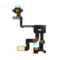 Wholesale Proximity Light Sensor Power Button Flex Cable Ribbon Repair Parts for iphone G S GS Hot Selling