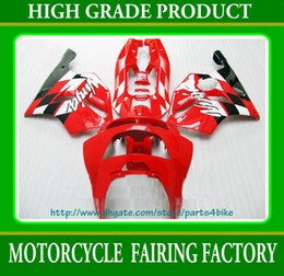 High grade red black Fairings for 1994 1995 1997 Kawasaki Ninja ZX6R zx-6r ZX 6R 94 95 96 97 RX10
