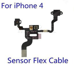 Botón de alimentación del sensor de proximidad luz de la cinta del cable de la flexión para el iphone 4 4G 4S 4GS barato