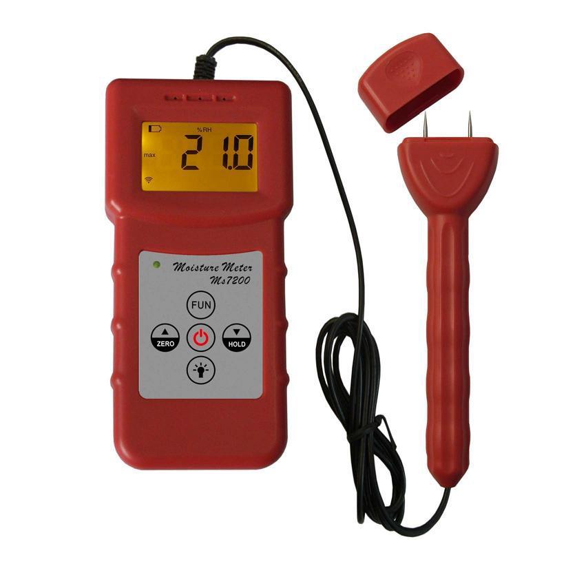Digital Tube Tester : Digital paper moisture meter pin type tube