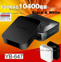 Wholesale Fashion PC Yoobao mAh Magic Cube Universal Power Bank YB647 Charger Back Up Battery For iPhone