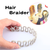 Wholesale Hair Braider Twist Styling Braid Tool Magic Wonder Holder Clip DIY French Grace