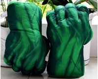 Wholesale New Cosplay The Hulk Smash Hand Soft Plush Glove great present for children