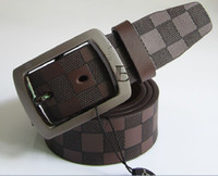 Standard Men Lengthen Classic Genuine Leather Wide Black Belts For Men 2013 Valentine' Day Designer Brand Mens Brown Belt