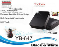 Wholesale 20PC Yoobao mAh Magic Cube Universal Power Bank YB647 Charger Back Up Battery For iPhone HTC