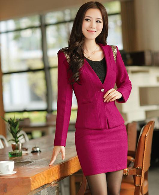 Fashionable work clothes for women. Girls clothing stores