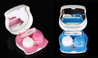 Contact Lens Storage Set contact lens cleaner - New Arrive Electronic contact lens case automatic cleaning lovely octopus lens case