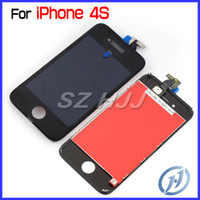 Full Front Assembly For iPhone 4S LCD Display+ Touch Screen P...
