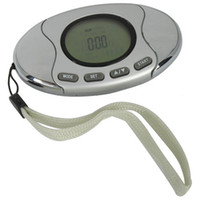 Wholesale New in Pedometer With Fat Calorie Analyzer Silver
