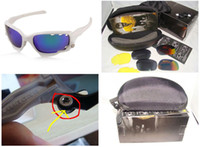 Wholesale white frame for white rubber New Jawbone Cycling Glasses Racing Jacket Sport Sunglasses