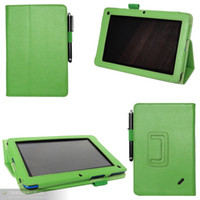 For Acer acer light - folio Folding stand tablet leather case for Acer Iconia B1 A71 pc