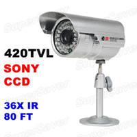 Wholesale Promotion CCTV Outdoor Security Camera Weatherproof Day Night Vision Surveillance SONY CCD TVL