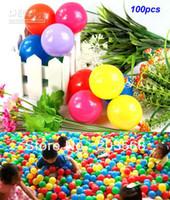 plastic balls tent - 100pcs Colorful CM plastic Tent Water Pool Ocean Wave Ball