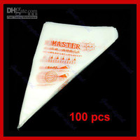 Wholesale 100x Disposable Pastry Bag Cake Icing Piping Decorating