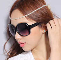 Wholesale Fashion Large Frame Sunglasses Women Name Brand Sunglasses Radiation protection glasses eyeglasses